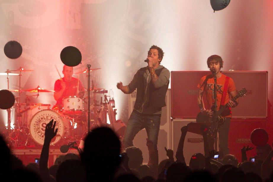 Le groupe Simple Plan.... (Photo: Hugo-Sébastien Aubert, La Presse)