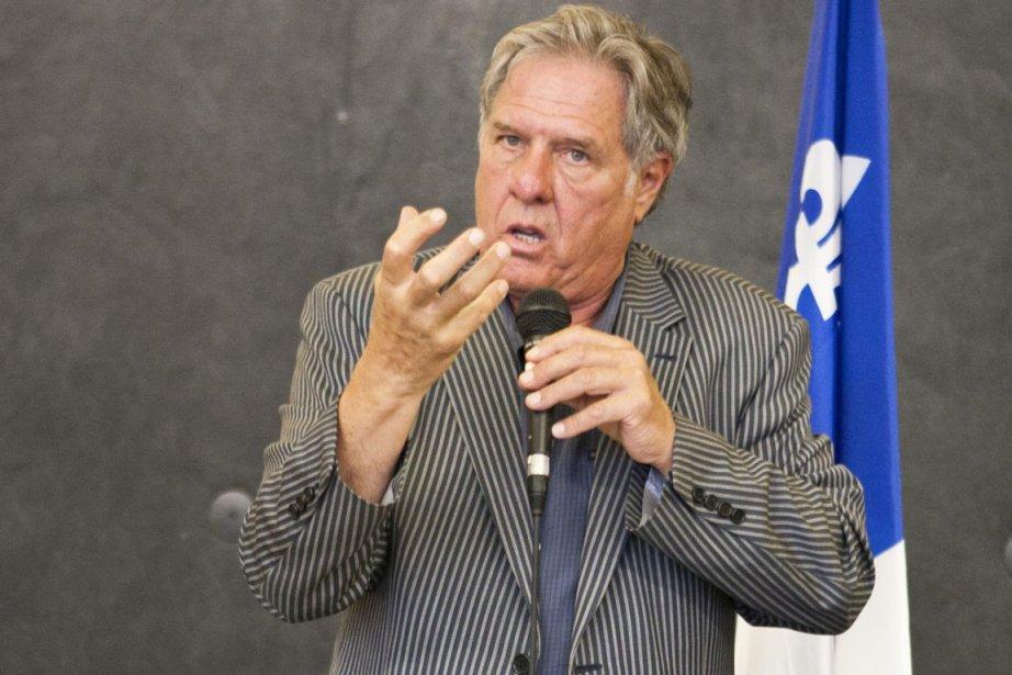 Pierre Curzi a longuement expliqué les raisons de... (Photo: Martin Leblanc, La Presse)