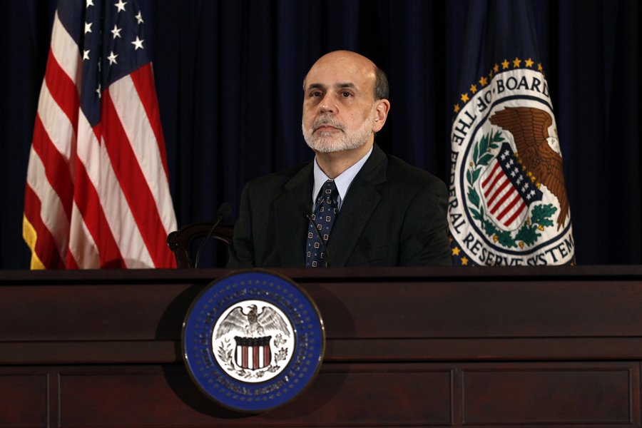 Le président de la Fed, Ben Bernanke.... (Photo: Reuters)