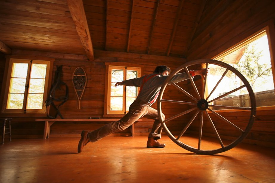 Timber... (Photo fournie par le Cirque Alfonse)