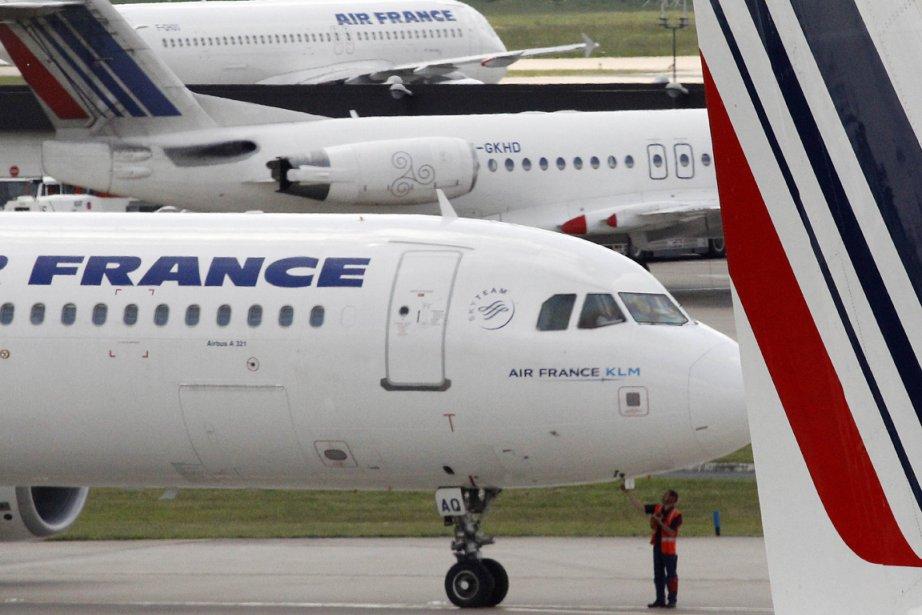 Un avion d'Air France... (Photo: AFP)