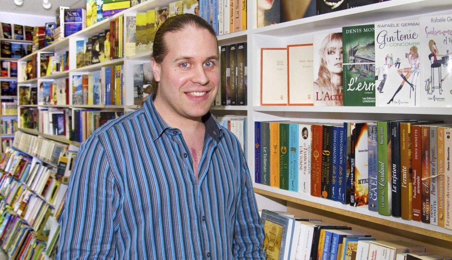 Frédéric Fortin, 31 ans, libraire.... (Photo fournie par François Chagnon)