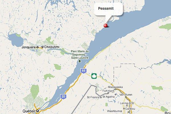 Pessamit... (maps.google.ca)