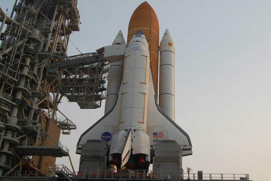 Le lancement d'Atlantis est prévu vendredi à 11H26... (Photo AP)