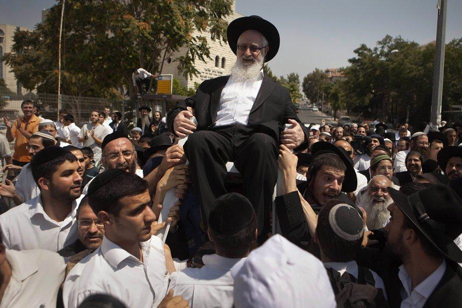 Le rabbin arrêté a été libéré après un... (Photo: AFP)