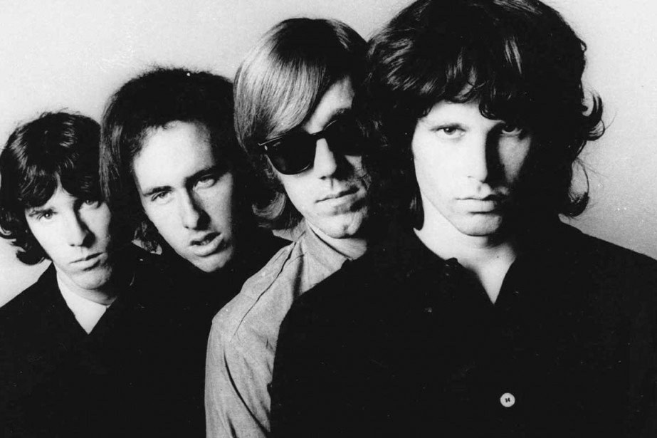 Jim Morrisson et ses collaborateurs de The Doors.... (Photo AP)