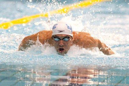 L'Américain Michael Phelps est revenu à ses bonnes... (Photo: Hugo-Sebastien Aubert, La Presse)