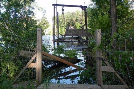 Le pont a été construit en 1904 par... (Photo: PC)
