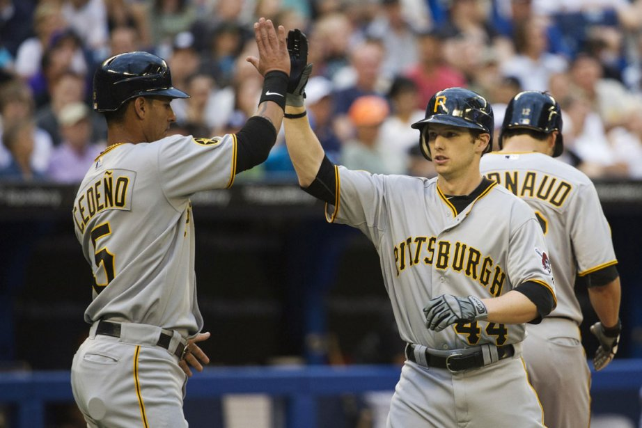 Alex Presley des Pirates de Pittsburgh... (Photo: Reuters)