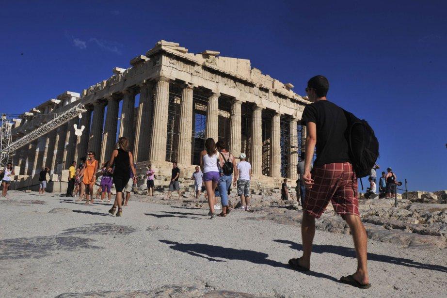 L'Acropole d'Athènes... (Photo: archives AFP)