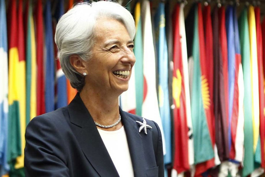 Christine Lagarde... (Photo Reuters)