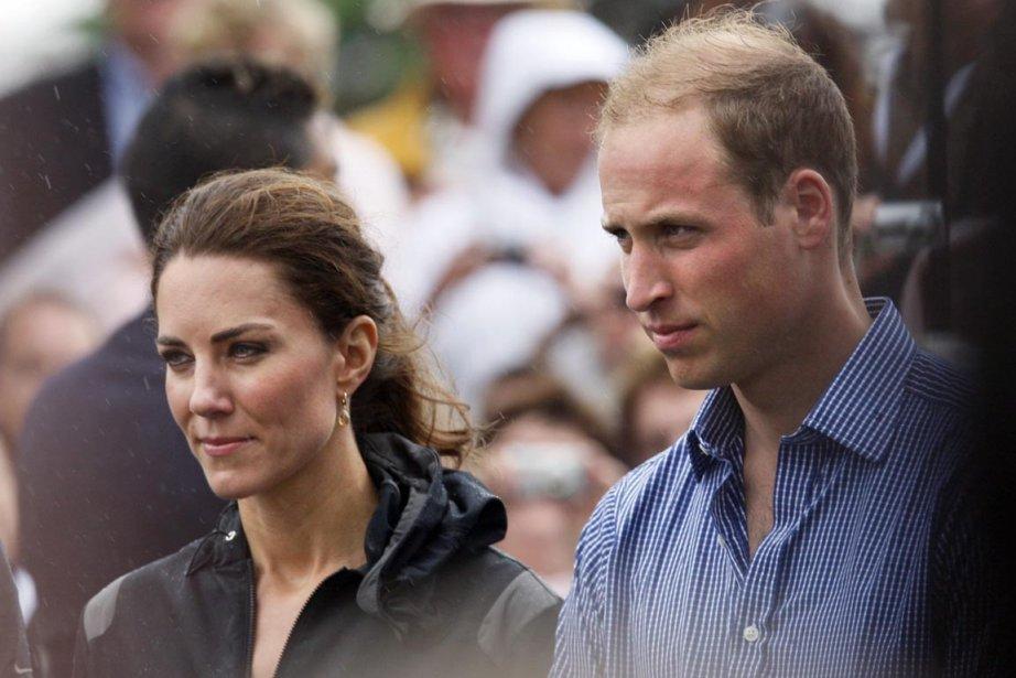 La duchesse et le duc de Cambridge étaient... (Photo: Robert F. Bukaty, AP)
