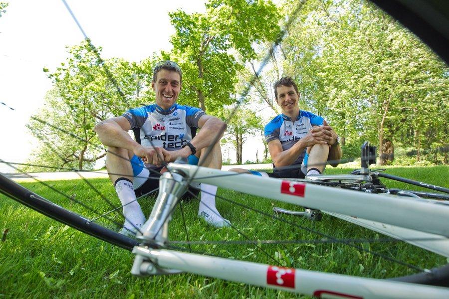 Martin Gilbert et Keven Lacombe... (Photo: Hugo-Sébastien Aubert, La Presse)