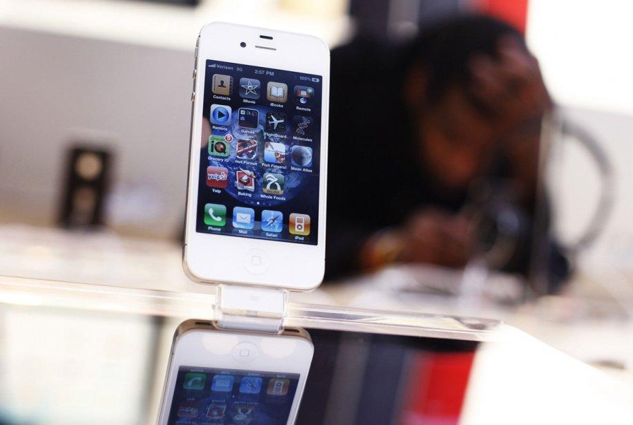 Un iPhone 4...