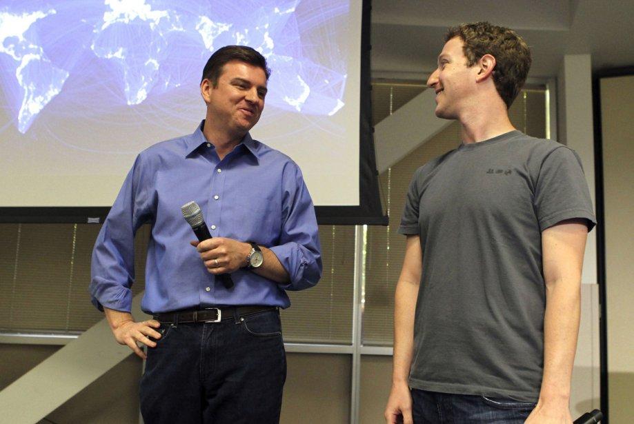Le PDG de Skype, Tony Bates, et le... (Photo: Reuters)