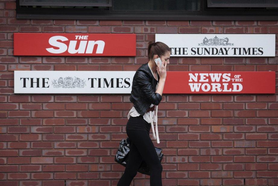 Le tabloïd britannique News of The World, propriété... (Photo Reuters)