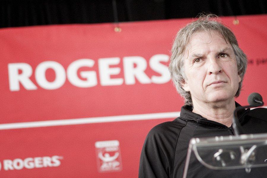 Le président de la Coupe Rogers, Eugène Lapierre,... (Photo: Marco Campanozzi, La Presse)