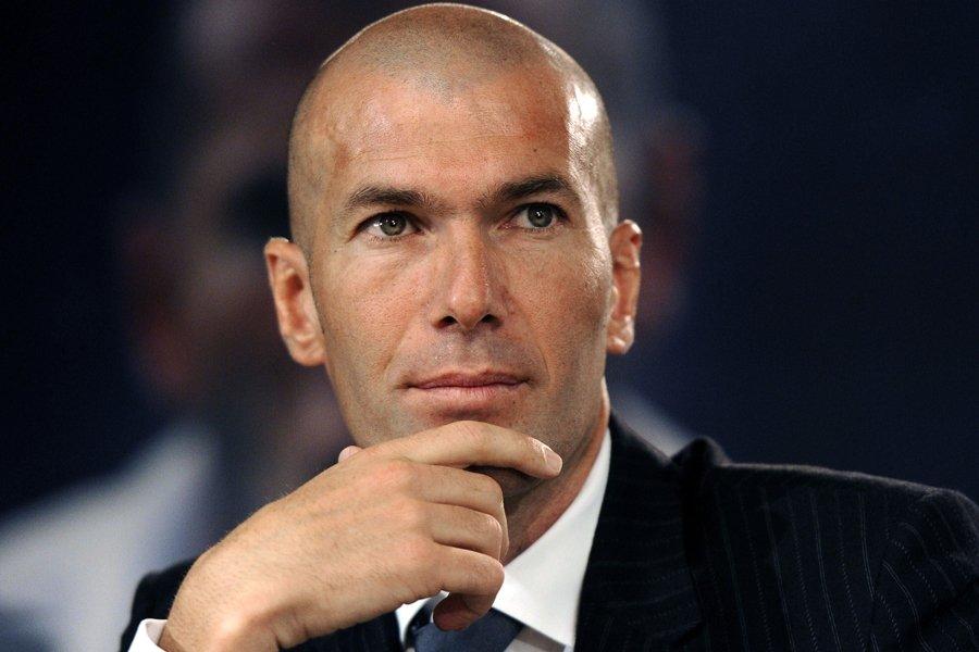 Zinédine Zidane... (Photo: AFP)