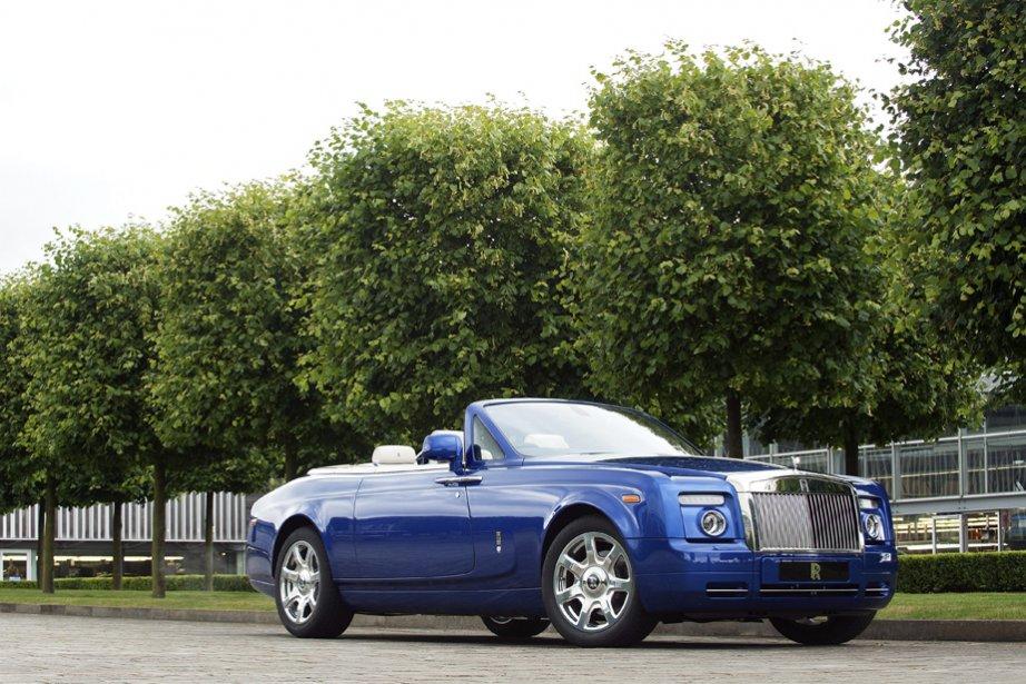 La Rolls-Royce Very Special Phantom Drophead Coupé.... (Photo fournie par Rolls-Royce)