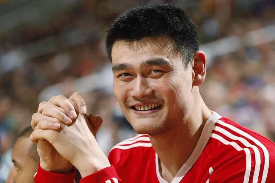 Yao Ming, des Rockets de Houston... (Photo: Reuters)