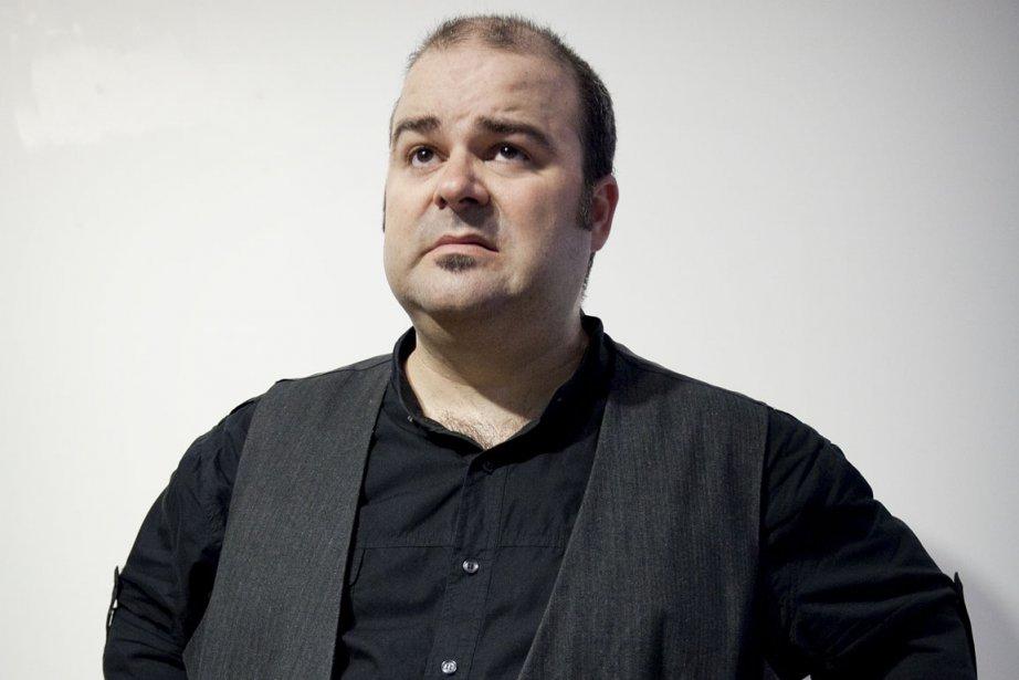L'humoriste Laurent Paquin... (Photo: Marco Campanozzi, La Presse)