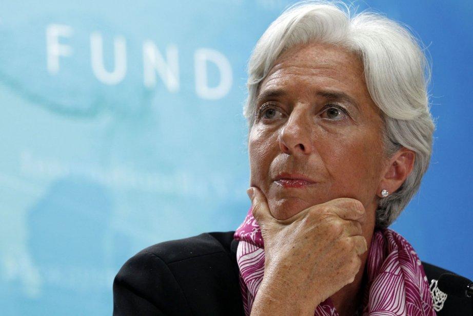 Mme Lagarde, avait indiqué mercredi vouloir continuer sur... (Photo: Reuters)