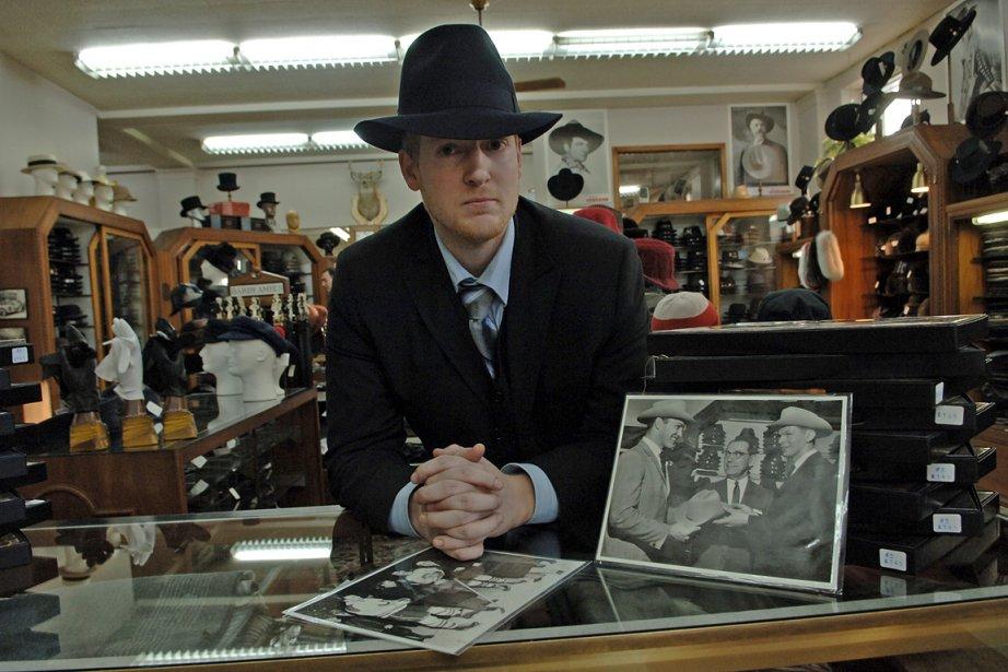 Jean-Marc Lefebvre, propriétaire de la boutique Henri Henri... (Photo: Marco Campanozzi, La Presse)
