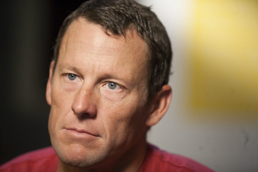 Lance Armstrong... (Photo: AP)
