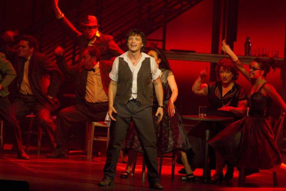 Pivot de l'affaire -il chante, danse, joue et... (Photo André Pichette, La Presse)