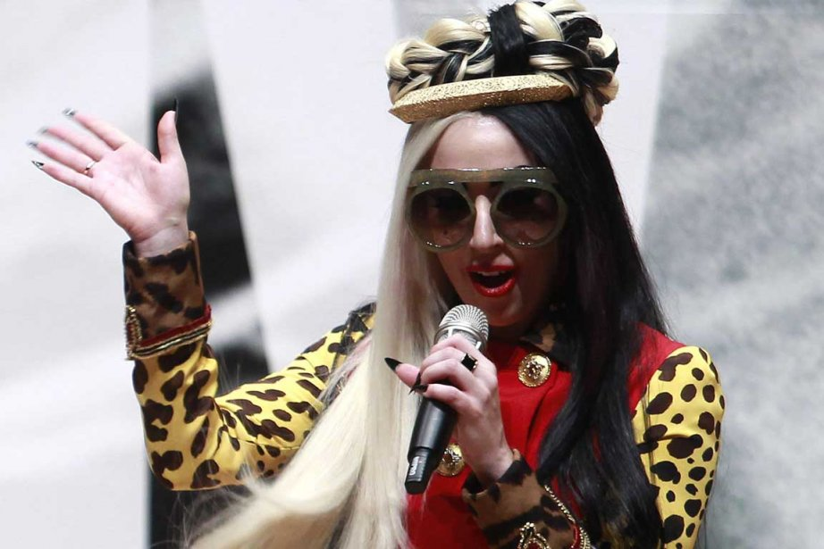 Lady Gaga... (Photo Reuters)