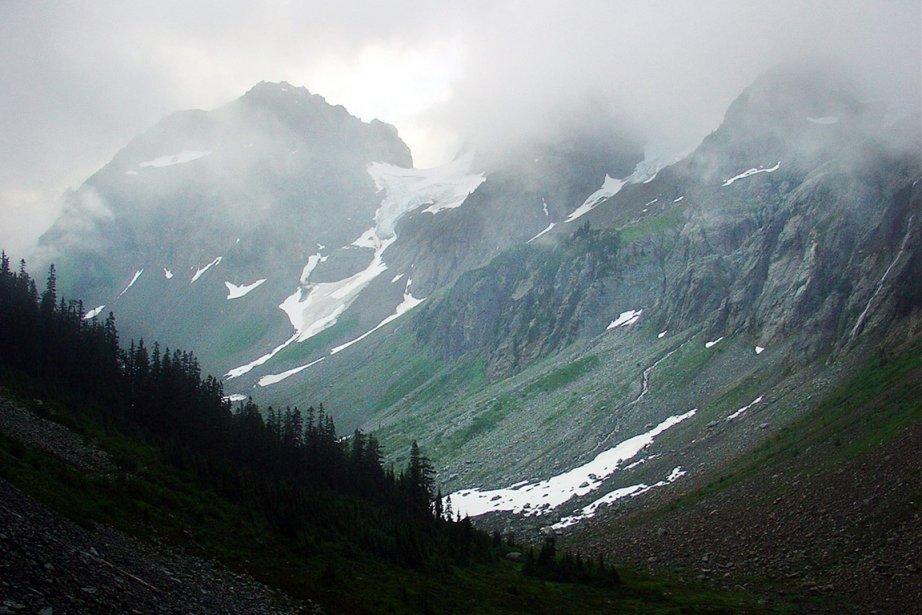 Vue sur la chaîne des Cascades, dans le... (Photo: Chris Rodkey, Archives AP)