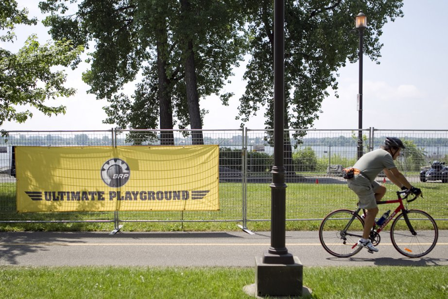 Les VTT se promènent au parc René-Lévesque sur... (Photo: Marco Campanozzi, La Presse)