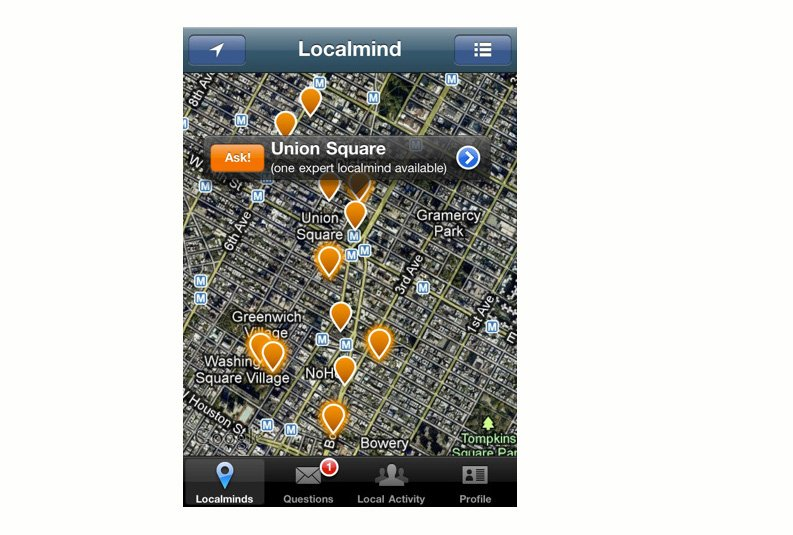 Localmind a lancé son application pour iPhone en...