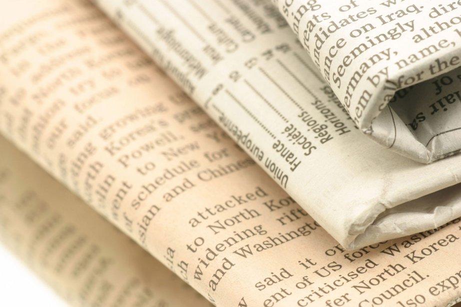 Les journaux traditionnels sur papier auront disparu  dans... (Photo: La Presse)