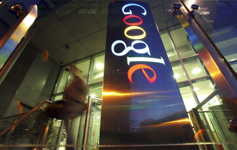Le groupe internet Google ( (Photo Bloomberg)