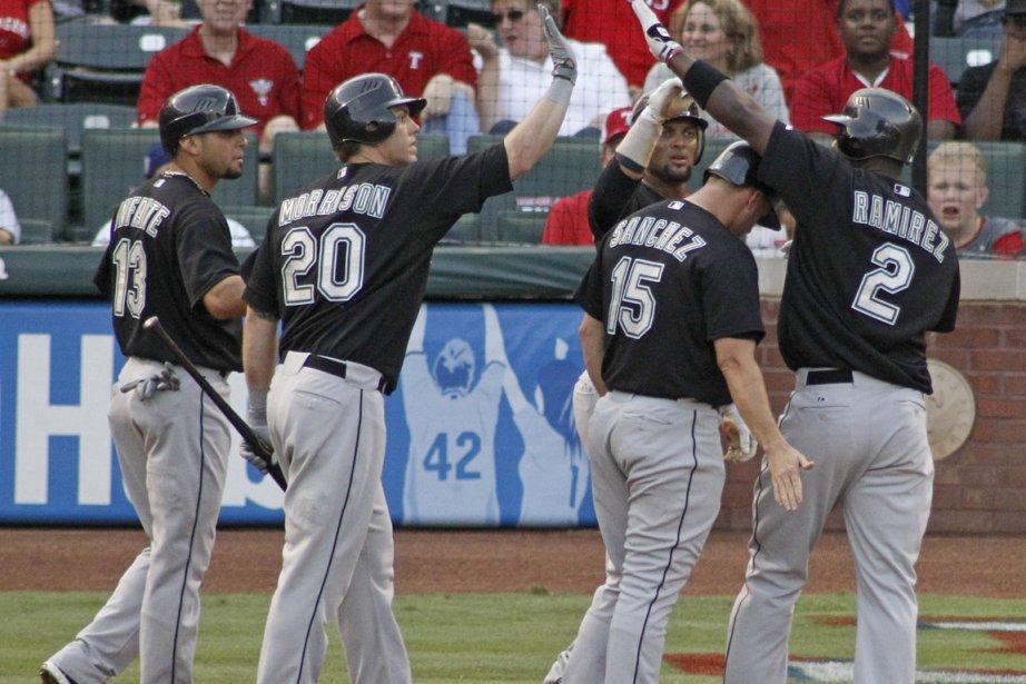 En défaisant les Cubs, les Marlins ont inscrit... (Photo: Paul Moseley, AP)