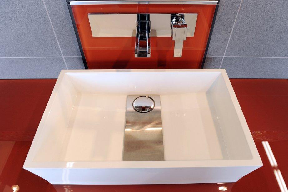 des meubles lavabos minimalistes lise fournier mobilier. Black Bedroom Furniture Sets. Home Design Ideas