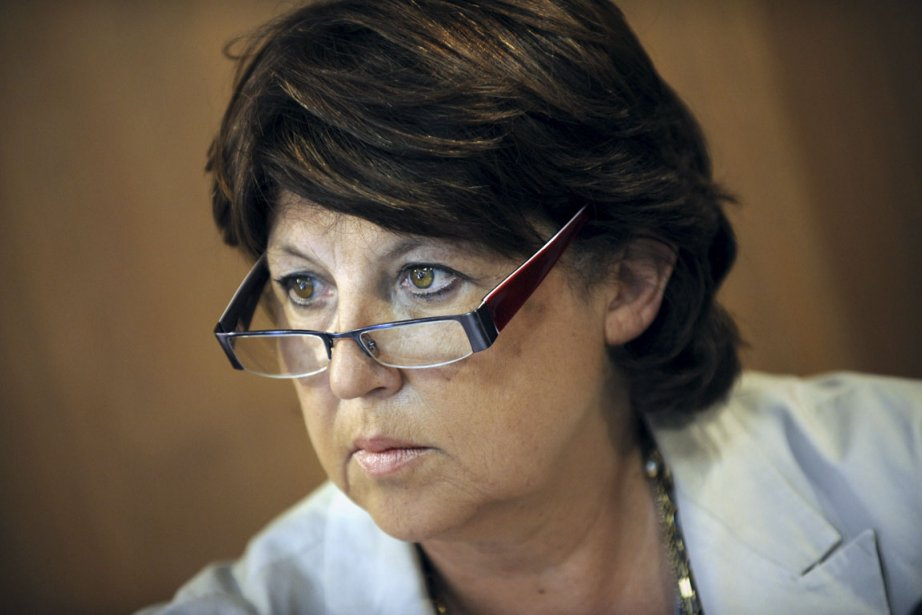 Martine Aubry... (Photo: AFP)
