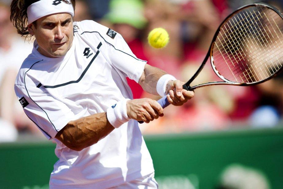 L'Espagnol David Ferrer (ici sur une photo d'archives)... (Photo: AFP)