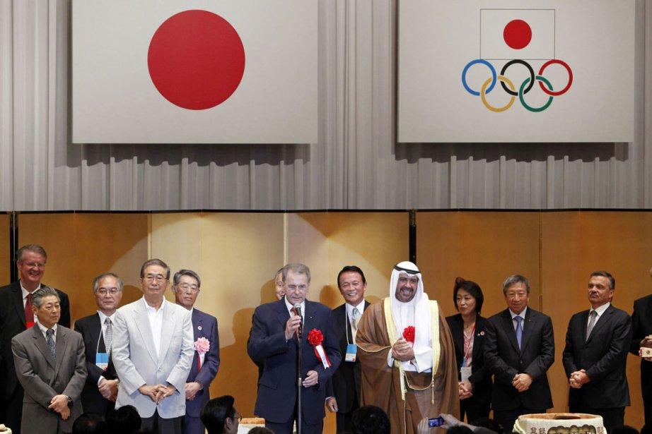 M. Rogge a souligné que le mouvement olympique... (Photo: AP)