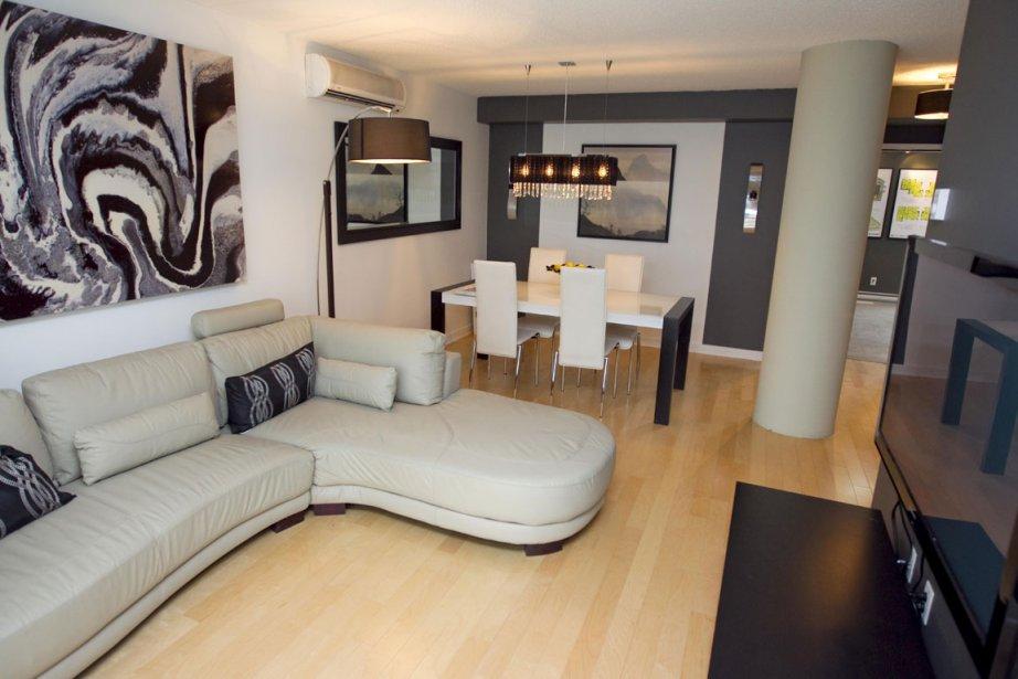 Les appartements sont conçus pour plaire à une... (Photo: Alain Roberge, La Presse)