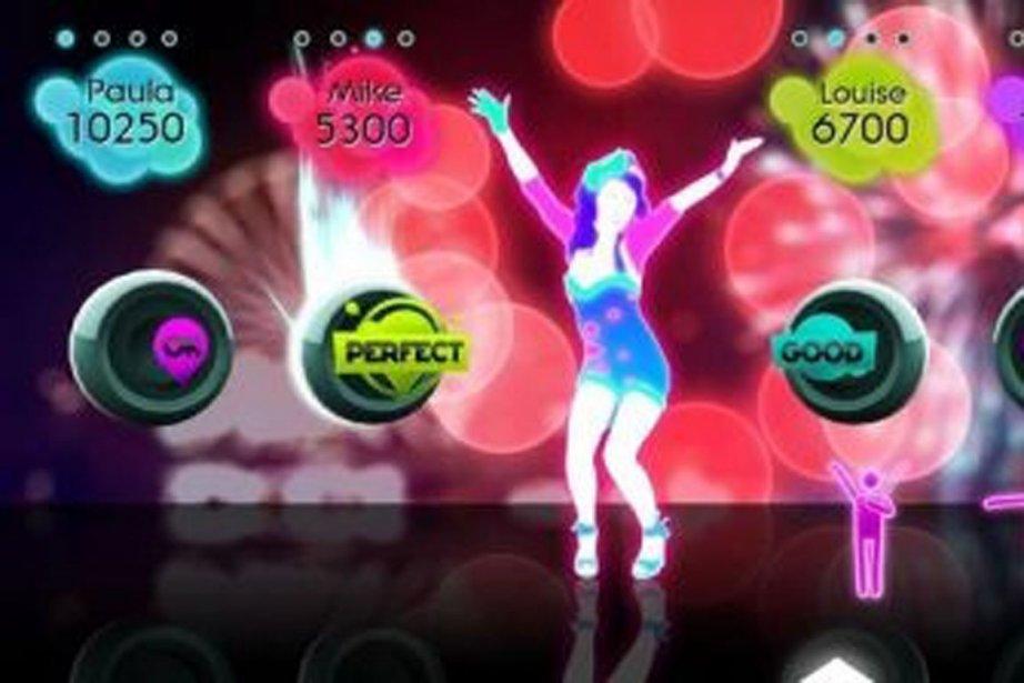 Just Dance 2... (Photo tirée du jeu Just Dance)