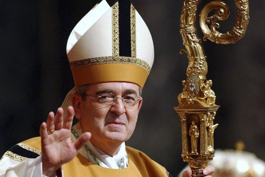 Le cardinal  Justin Rigali, 76 ans, a... (Photo: Chip East, AFP)