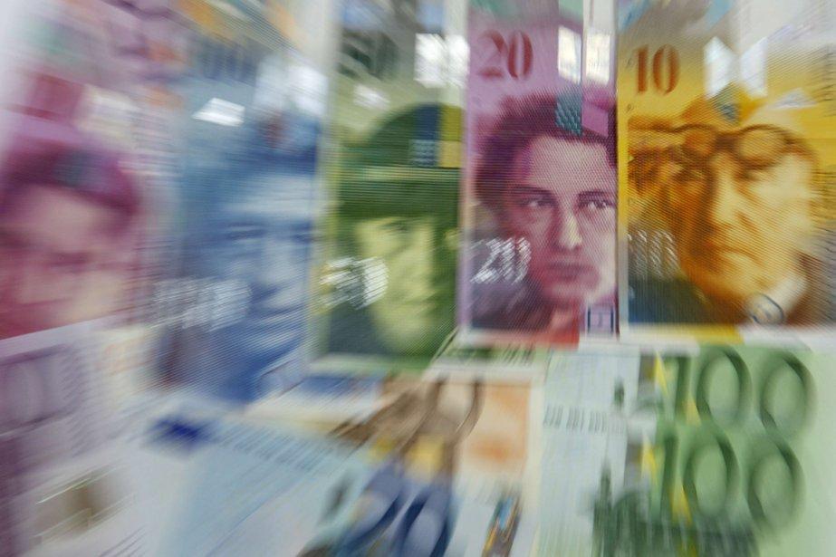La dernière intervention de la banque nationale helvétique,... (Photo Reuters)