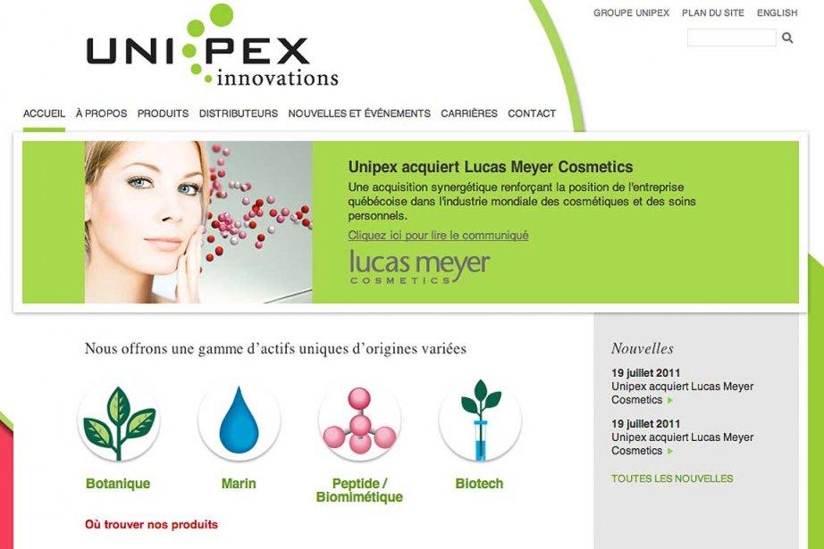 Le fabricant de cosmétiques québécois Unipex a... (Image fournie par Unipex)