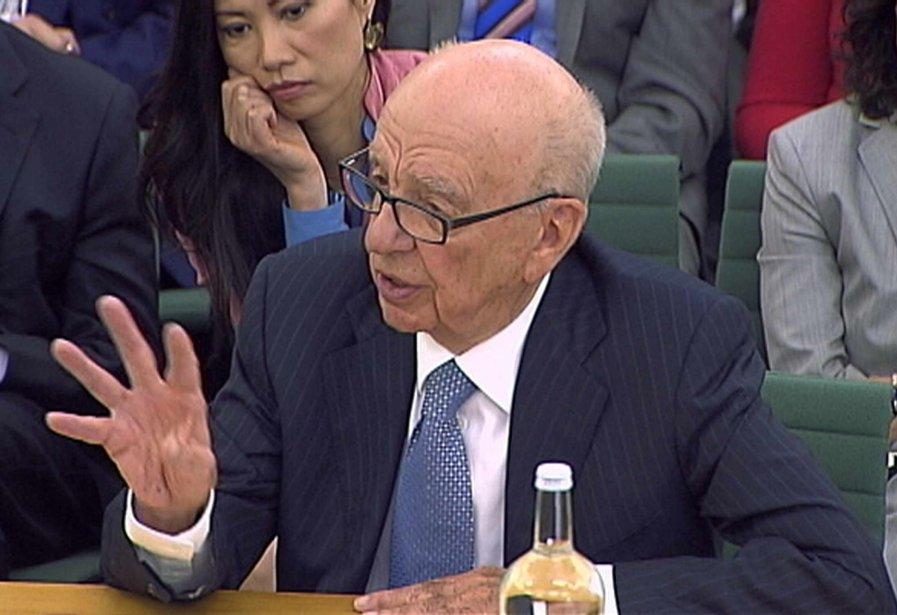 Rupert Murdoch.... (PHOTO: REUTERS)