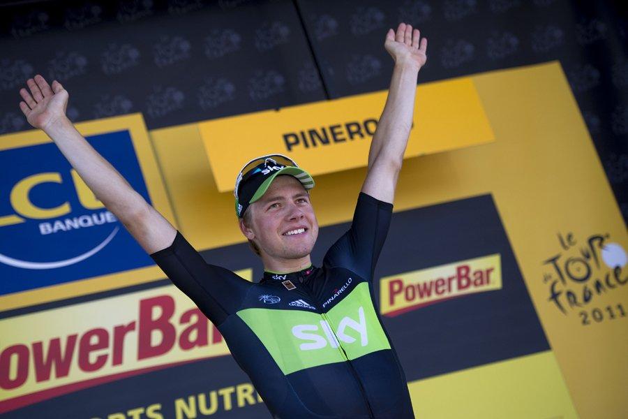 Le vainqueur de la 17e étape du Tour... (Photo: AFP)