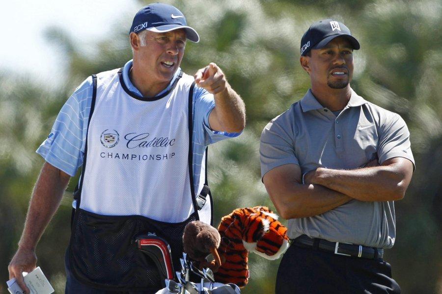 Steve Williams était le cadet de Tiger Woods... (Photo: Reuters)
