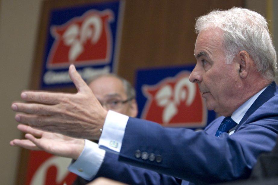 Alain Bouchard, président et chef de la direction... (Photo Alain Roberge, La Presse)