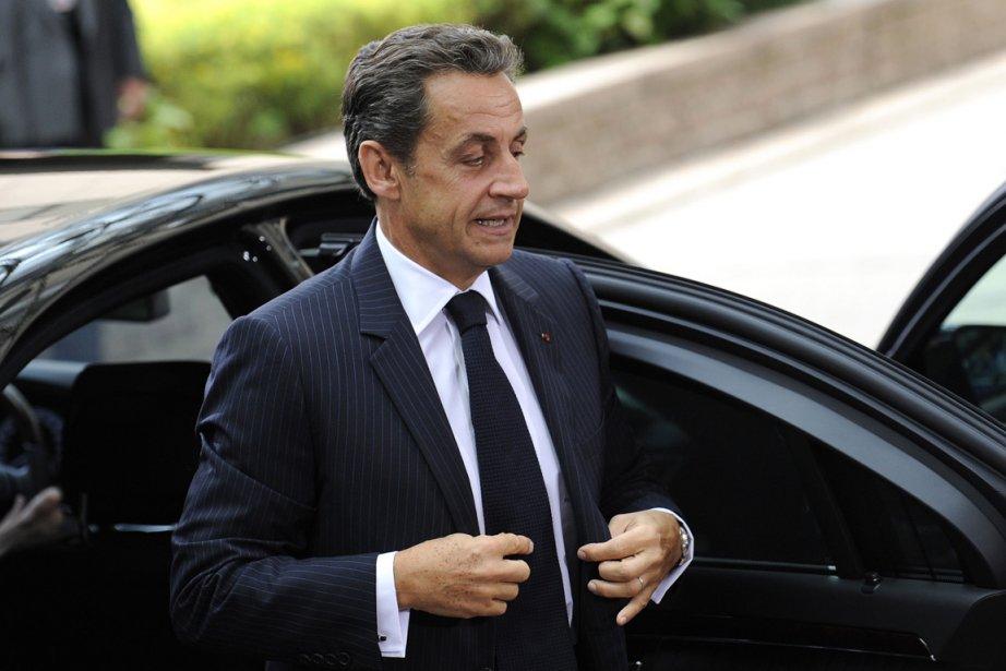 Le président français Nicolas Sarkozy.... (Photo: John Thys, AFP)